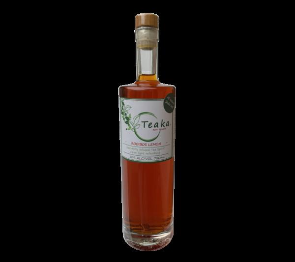 Teaka Rooibos Lemon Tea Spirit - alcoholic tea spirit, low carb, low sugar