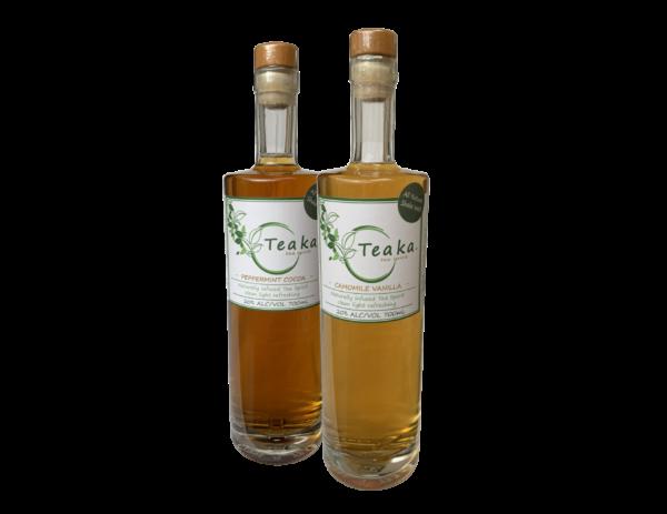 Teaka Camomile & Peppermint - alcoholic tea spirit, low carb, low sugar