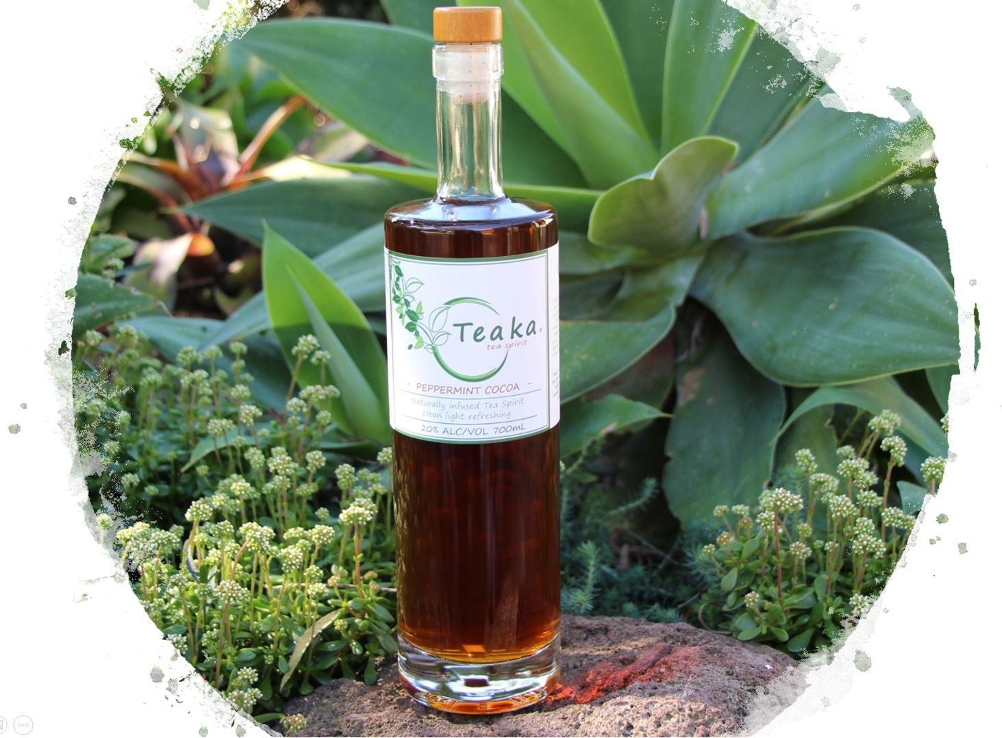 Teaka Peppermint Cocoa Tea Spirit - alcoholic tea spirit