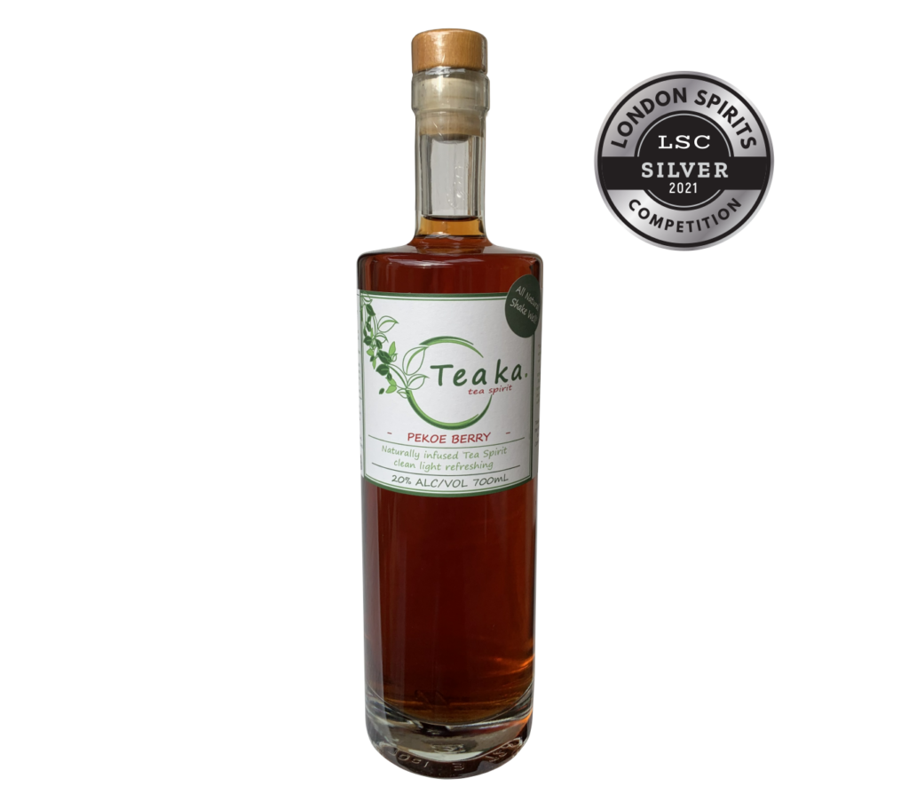 Teaka Pekoe Berry Tea Spirit - London Spirits Competition Award 2021
