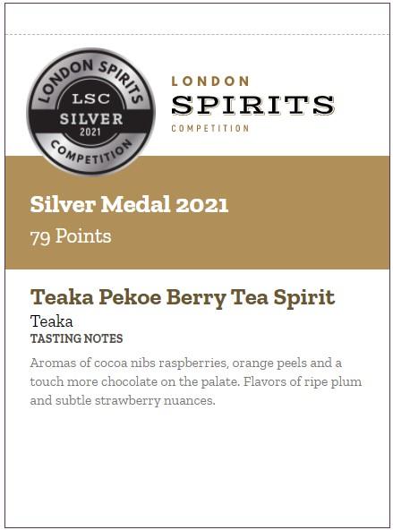 Teaka Pekoe Berry Tasting Notes